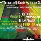 Audio convocatoria 25° Encuentro de la Unión de Asambleas Ciudadanas