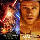LODE 6x08 MARTE (The Martian) Libro + Película, Trailer EL DESPERTAR DE LA FUERZA análisis