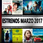 El podcast de C&R - 2X19 - ESTRENOS MARZO '17: El viajante, Bajo la arena, Doña Clara y La chica desconocida