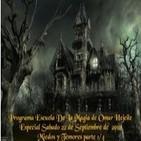Historias de Miedo - Escuela de la Magia 22-09-2012