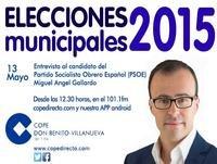 Entrevista MIguel Angel Gallardo en COPE Don Benito Villanue