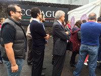 Entrevista a López Obrador, previo a ejercer su voto.