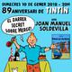 10/01/2018 Parlem de llibres amb Llibres Low Cost - 89è aniversari de Tintín