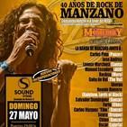 Radio The Sentinel 21-05-2018 - Entrevista a MARCOS SÁNCHEZ PERANDONES (MANZANO: 40 AÑOS DE ROCK)