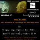 El Cronovisor. Programa 37. Audio-Documental sobre Cerro Bilanero.