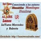 Sol-Tame AL AIRE lunes ConociendoALosAutores 10-03-14 ENRIQUE BALLESTEROS