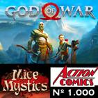 LODE 8x36 GOD OF WAR 2018, Action Comics nº 1.000, Myce & Mystics