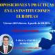 Interconexiona 26/02/2016 Oposiciones y prácticas en las instituciones Europeas