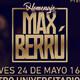 Homenaje a Max Berrú