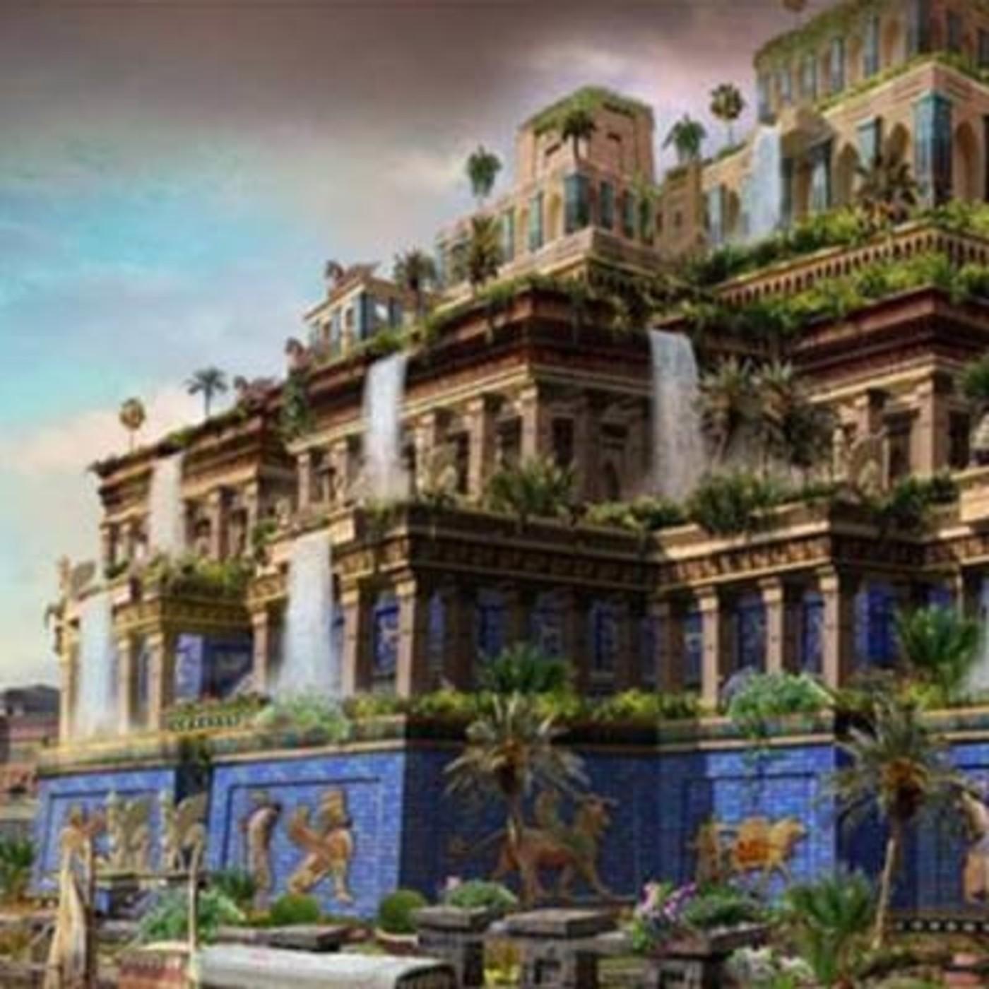 Los jardines colgantes de babilonia en podcast de historia for Jardines colgantes de babilonia