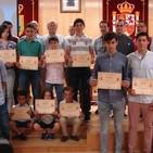Entrega de diplomas en la escuela taurina de Navas del Rey