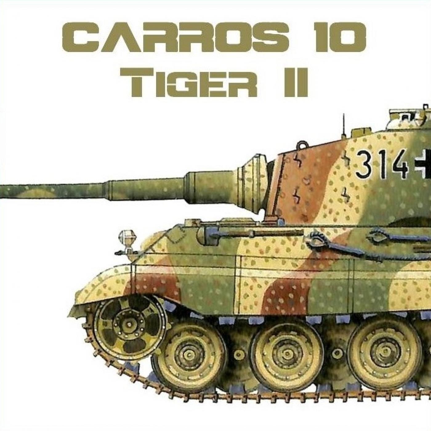 C-10 #50 Tiger II - CRS AH en Casus Belli Podcast Historia en mp3(23/09 a  las 06:00:00) 03:22:00 75676594 - iVoox