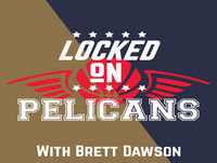 LOCKED ON PELICANS--4.16.18--Pelicans beat the Trail Blazers, take game 1 of the series