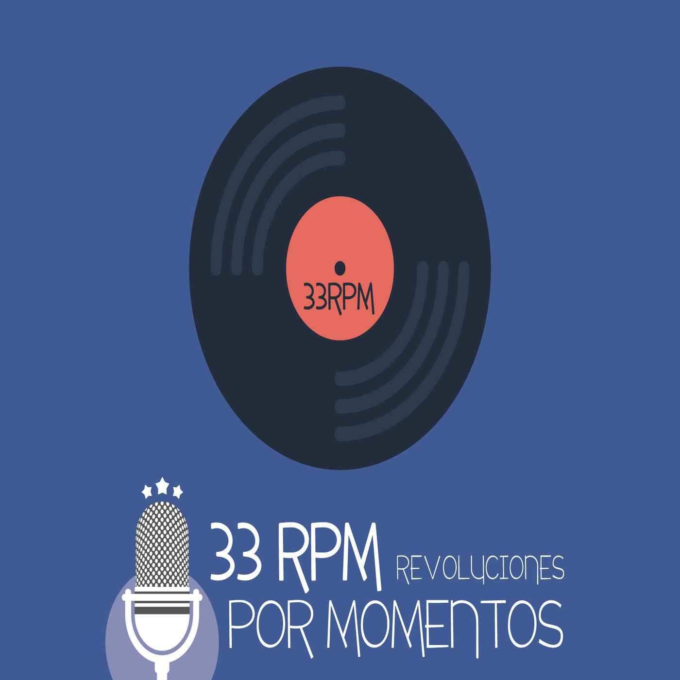 Logo de 33 Revoluciones por momentos