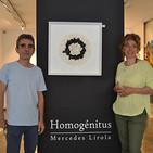Entrevista a Mercedes Lirola y Santiago Collado con motivo de la exposición 'Homogénitus'