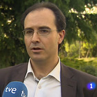 Entrevista a VEscudero en el Telediario de La 1 de Televisión Española