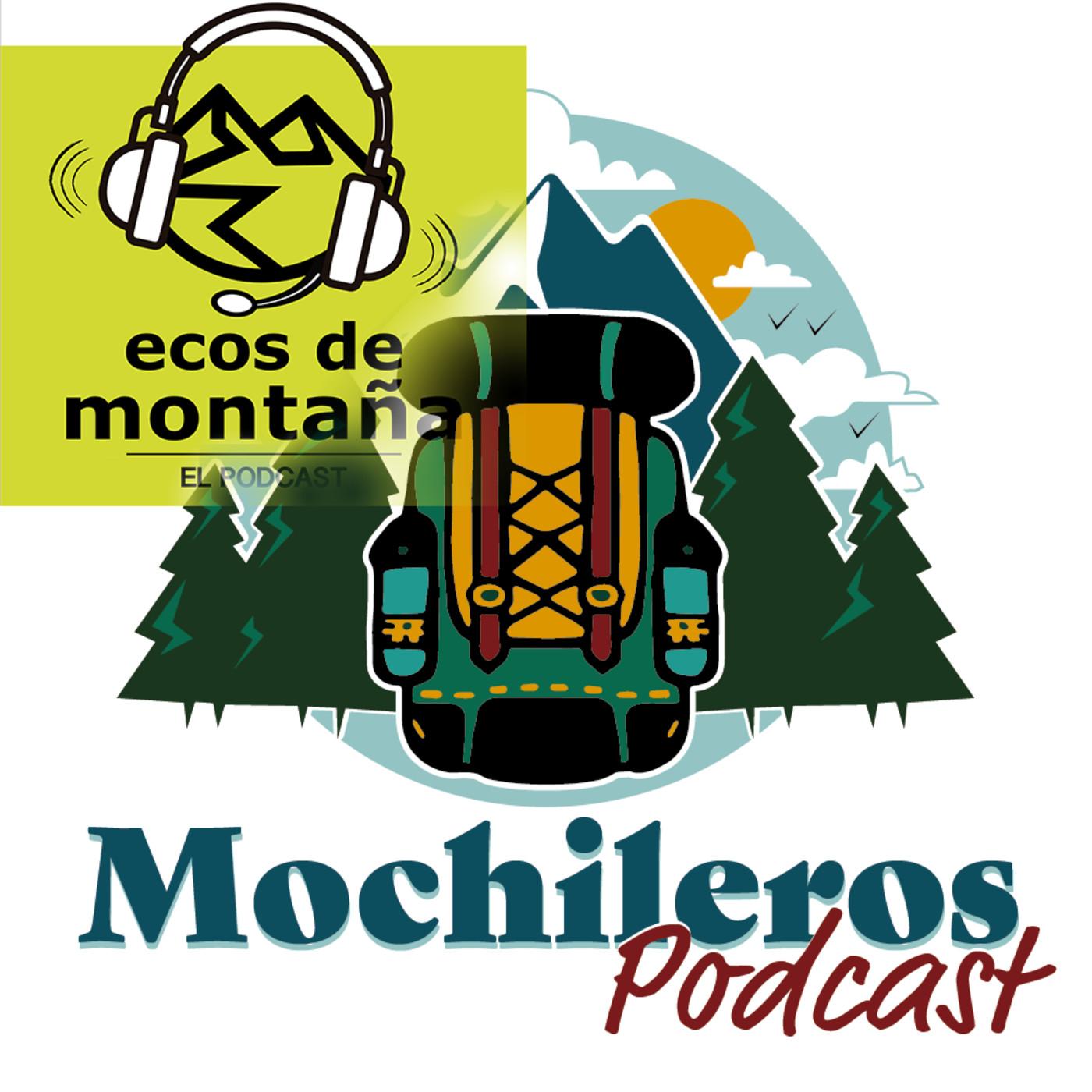34.- Mochileros teniendo conversaciones de refugio con Ecos de Montaña (con Miguel Gutierrez).