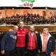 En santa Cecilia, la Societat Joventut Musical de Faura, visita Radio Vall de Sego