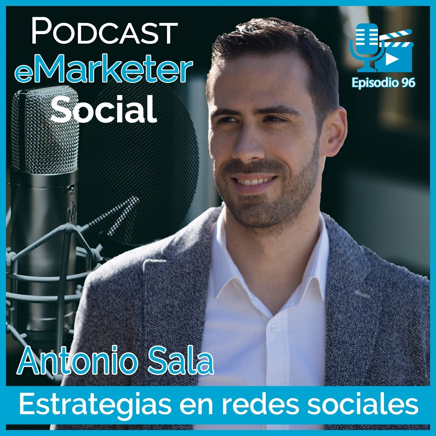 096 Antonio Sala community manager & copywriter en Podcast eMarketerSocial
