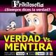 2x11. VERDAD vs. MENTIRA.Entretenimiento, recuerdos, positividad, humor, tertulia, amistad, años 70, 80... Frikilosofia.