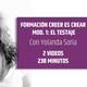 Formación CREER ES CREAR: El Testaje, un curso de Yolanda Soria - pensamientos