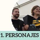 1. CREACIÓN DE PERSONAJES a través del ROL (con Costa Álcalá)