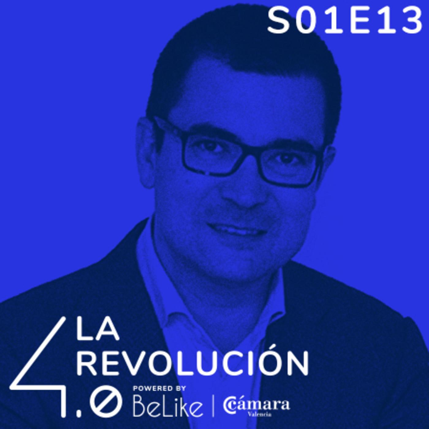 Episodio 13: Industria 4.0 y tecnologías emergentes: más allá de la Transformación Digital' con Pablo Oliete
