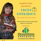 Drops literários com Angélica Rizzi apresentando João Guimarâes Rosa