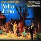 Mtra. Arcelia de la Peña 'PEDRO Y EL LOBO', con Nino Canún.