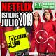 Octava Zona E14-T4 - Estrenos NETFLIX Julio 2019
