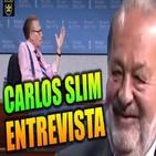 Carlos Slim y Larry King - Entrevista / Secretos de su Éxito, Negocios e Inversión