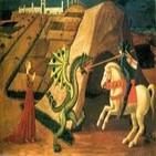 San Jorge y el dragón, primera historia de dragones y princesas de occidente
