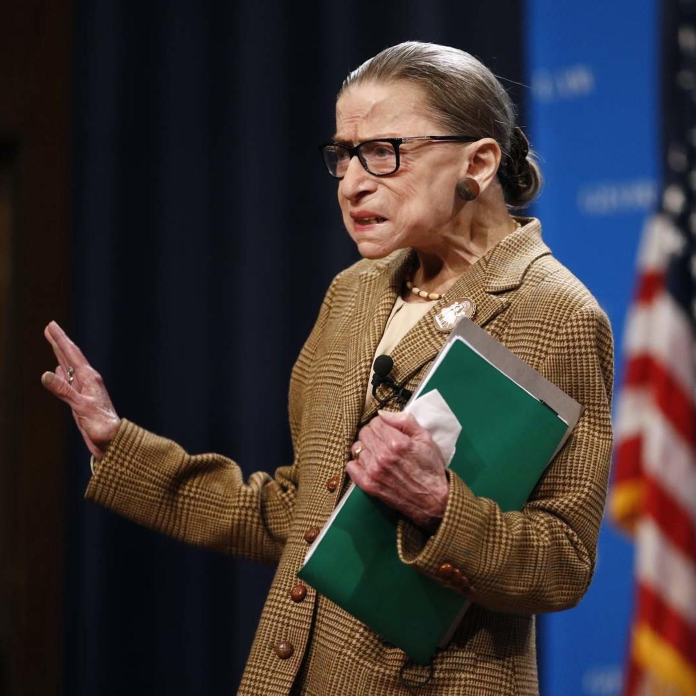 Sin personas como Ruth Bader Ginsburg, estamos más jodidas.