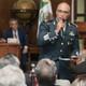 He vivido meses de angustia, dice general León Trauwitz