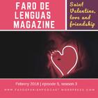 FLM 5X3. Valentine's Day, love and friendship.