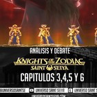 8x30 Knights of the Zodiac - Capitulos 345 y 6 - Analisis y Debate en VIVO