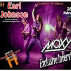 Exclusive Interview With Earl Johnson (Lead Guitarist in MOXY)