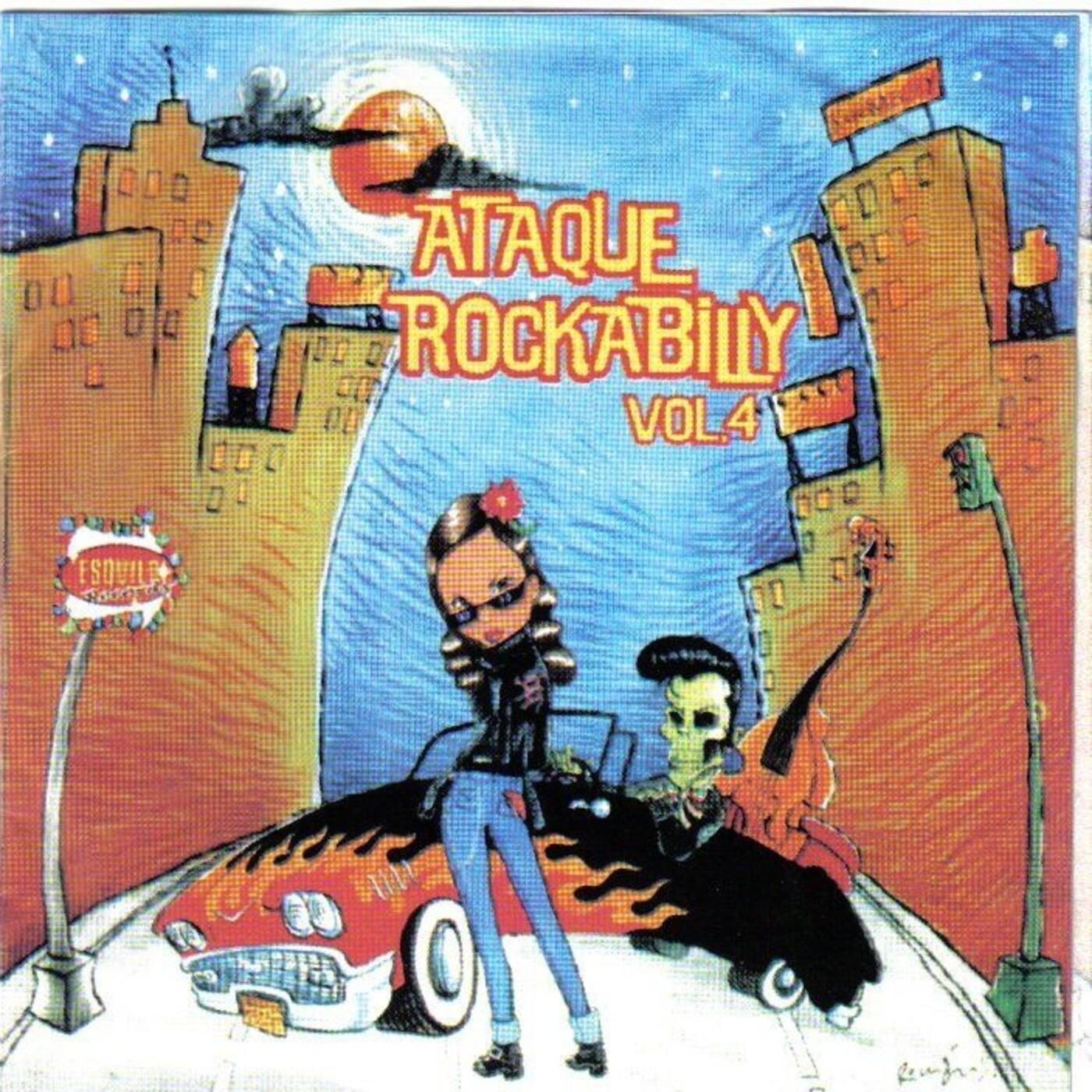 Ataque Rockabilly Vol. 4
