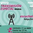 Transmisión especial de la #MarchadelaGorra #11MdlG por la RNMA