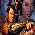 La Viñeta. El Samurai , el Yakuza y el Superman de Romita jugando al Candy Crash.