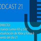 Podcast 21 - En Directo_ Los nuevos Lumia, actualización de XBOX, Forza 6 y el evento del día 21
