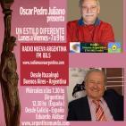 Eduardo Aldiser con Oscar Pedro Juliano - Miércoles 21-4-16 Radio Nueva Argentina FM 88.5