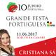Emissão em Directo da Festa de 10 de Junho '17 Dia de Portugal, Camões e das Comunidades Portuguesas @ Bois de la Cambre