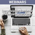 """Webinar """"Las principales fuentes de tráfico para generar leads"""" de IEBS"""