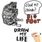 Algo extraÑo hay ahí a fuera : bigfoot-yeti draw my life
