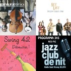 Programa 345 2na part: GrazzTrio, Barcelona Bluegrass Band i Swing 42.