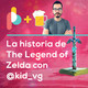 La historia de The Legend of Zelda con @kid_vg | Pixelbits con cerveza