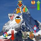 La lucha por la Europa League y el descenso en La Liga.