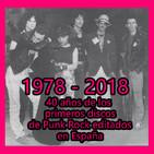 BUSCA EN LA BASURA!! RadioShow. 1978-2018, 40 años de los primeros discos españoles de punk rock.