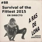 A Ras De Lona #88 - (En directo) ROH Survival of the Fittest y previa de WWE TLC